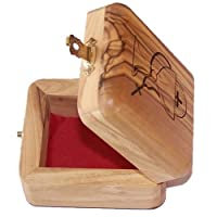 Olive Wood Box First Communion