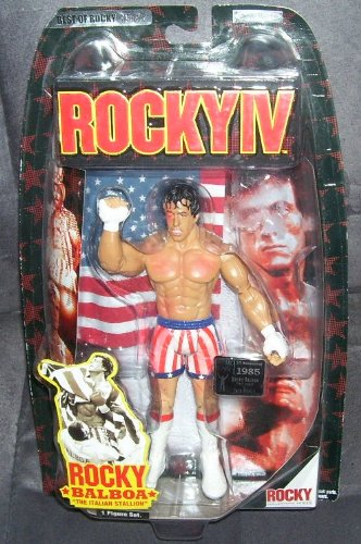 Buy Low Price Jakks Pacific ROCKY IV Rocky Balboa The Italian Stallion POST FIGHT Action Figure 7″ (B004AMKIW4)