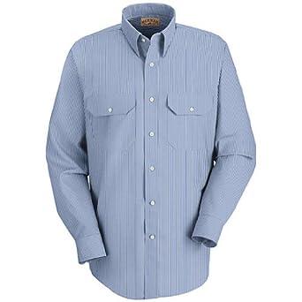 Buy Red Kap Mens Long Sleeve Uniform Shirt by Red Kap