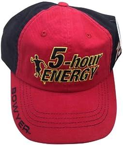 Buy 5-hour Energy Clint Bowyer #15 Hat Checkered Flag NASCAR Adjustable by NASCAR