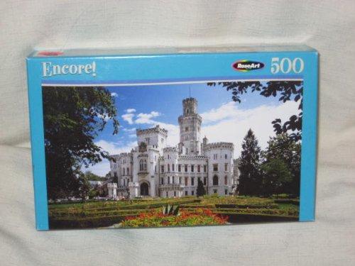 RoseArt Encore - 500 Piece Jigsaw Puzzle - Dream Castle