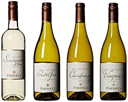 Parducci Classic White Wine Mixed 4 Pack, 2nd Edition, 4 x 750 mL