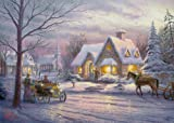 Gibsons Memories of Christmas Jigsaw Puzzle by Thomas Kinkade (500 Pieces)