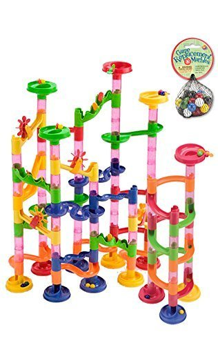 Toysmith-160-Piece-Marble-Run-with-30-Extra-Marbles