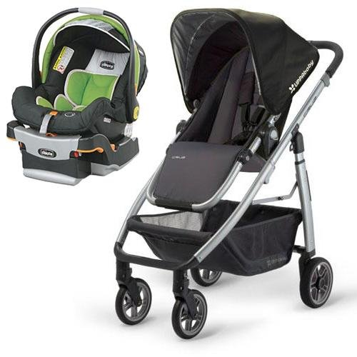 UPPAbaby 0071JKE - Cruz Jake Stroller with KeyFit 30 Infant Car Seat in Midori