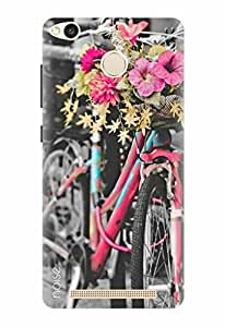 Noise Designer Printed Case / Cover for Xiaomi Redmi 3S Prime / Nature / Vintage Cycle Design