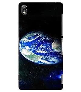 PrintVisa Beautiful Earth Design 3D Hard Polycarbonate Designer Back Case Cover for Sony Xperia Z3