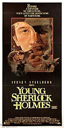young sherlock holmes 1985 original australia daybill