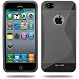 KAYSCASE S-Line TPU Case Cover for Apple new iPhone 5 / iPhone 5S(Smoked)