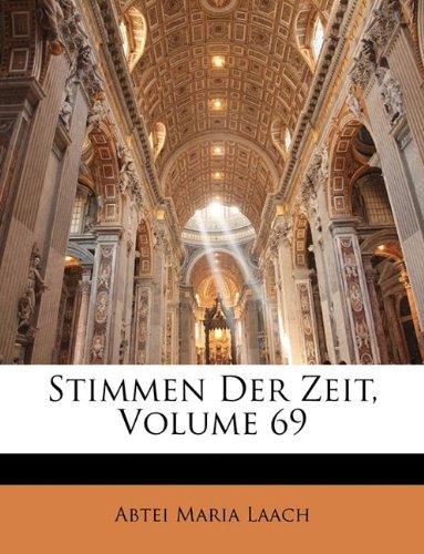 Stimmen Der Zeit, Volume 69