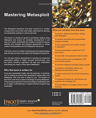 Mastering Metasploit