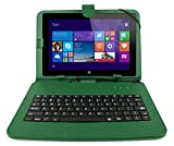 DURAGADGET Faux Leather Protective Case With Micro USB Keyboard & Built In Stand For Archos 101 Neon, Archos 97 Xenon Tablet ( 512MB RAM, 4GB, 3G, Android 4.0), 97 Neon, 101 Xenon, 101 Cobalt, 97 Cobalt, 97 Titanium HD 9.7-inch HD Tab (ARM Cortex A9 1.6
