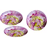 Barbie and The Three Musketeers 9 Inch Paper Plate -Pack of 8