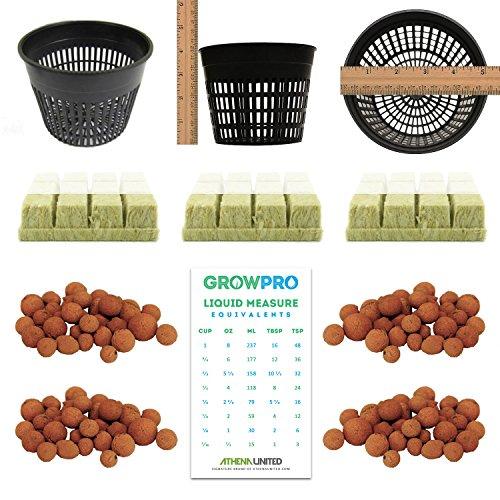 grow-pro-hydroponic-cloning-starter-kit-mesh-pots-hydroton-clay-pebbles-grodan-rockwool-cubes-liquid
