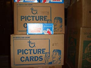 1986 Topps Baseball Cards Unopened Vending Box (500 cards) by Topps