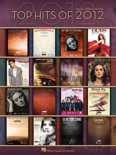 Top Hits of 2012: Piano/Vocal/guitar (Top Hits of Piano Vocal Guitar)
