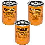 Generac - 3-pack 070185E 90mm High Capacity Extended Duty Oil Filter - 0K06950SRV