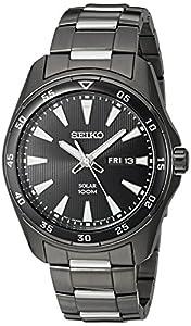Seiko Men's SNE401 Solar Analog Display Japanese Quartz Two Tone Watch
