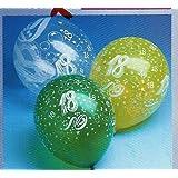 """10 Luftballons Zahl 18.Geburtstagvon """"Luftballons"""""""