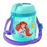 【 ディズニー 公式 】 ストロー 付き <strong>水筒</strong> フラスク ボトル 425 (ml) リトルマーメイド ( Disney アリエル プリンセス ベビー 子供 遠足 グッズ ) 正規品