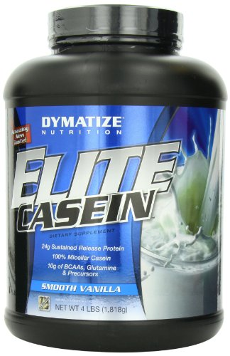 Dymatize Nutrition Dymatize Nutrition Elite Casein, Vanilla, 4 Pounds