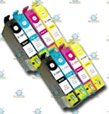 8 Chipped Compatible Epson T1291 T1292 T1293 T1294 T1295 Apple Multipack Ink Cartridges for BX625WD
