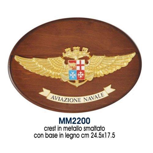 Giemme articoli promozionali - Crest Logo Araldico Aviazione Navale Marina Militare Prodotto Ufficiale