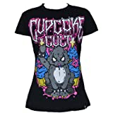 Rock Kitty T Ladies Cupcake Cult New Gothic Emo Punk Osiris Fashion