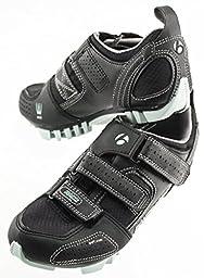 BONTRAGER RACE MOUNTAIN WSD 36 5.5 Women\'s Bike Cycling Shoes SPD Black W/Blue