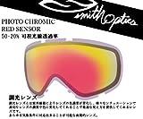 SMITH(スミス) ゴーグル用スペアレンズ 調光レンズ PHOTOCHROMIC RED SENSOR I/OX対応