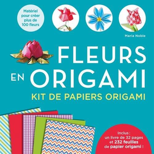 Fleurs en origami Kit de papiers origami