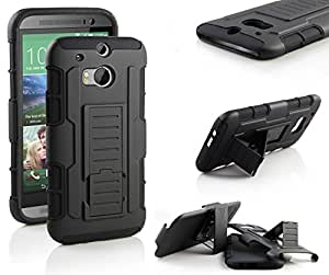 HTC One M8 Case - Ziaon Hybrid Protective Case for HTC One M8 2014
