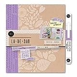 La De Dah Indie Journal and Glue Pen, Purple