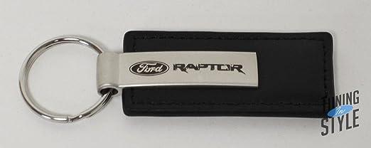 Ford Raptor Keychain Ford Raptor Black Leather Key