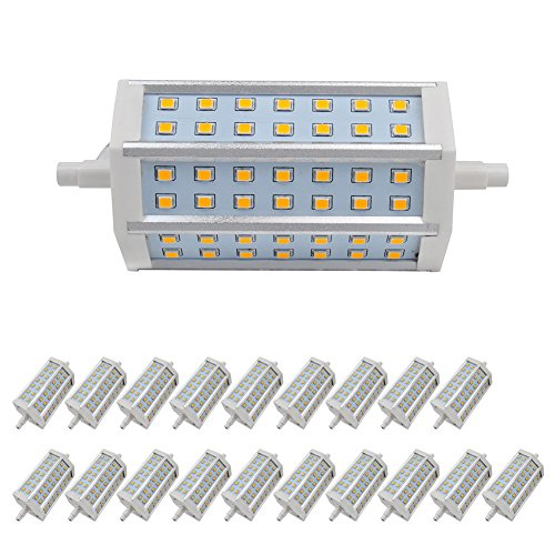 20X 9W R7S Lamp Led Bulb Dimmable Light Warm White Smd 2835 Low Consumption Ac 85-265 V