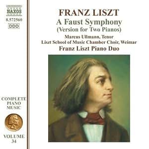V 34: Liszt Piano Music