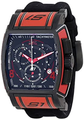 Invicta Men's 12782 S1 Rally Analog Display Swiss Quartz Black Watch