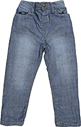 Addyvero Girl's 2 - 3 Years Slim Fit Jeans (GL0058-2-3Y, Light Blue)