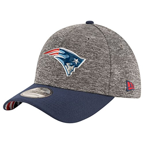 New Era NFL NEW ENGLAND PATRIOTS Authentic 39THIRTY Draft 2016 Stretch Fit Cap, Größe:S/M
