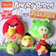 ANGRY BIRDS Play Pack...5 piece Toy Set...Squeeze Me Soundchip Inside!...Assorted Birds...Officially Licensed by Rovio by Hartz