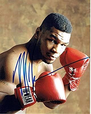 MIKE TYSON - Boxing Champ AUTOGRAPH Signed 8x10 Photo