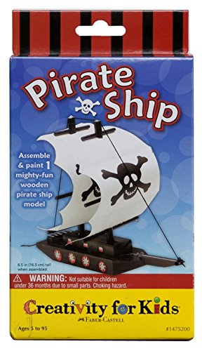 Creativity for Kids Pirate Ship Kit