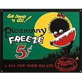 Picaninny Freeze Ice Cream Retro Vintage Tin Sign