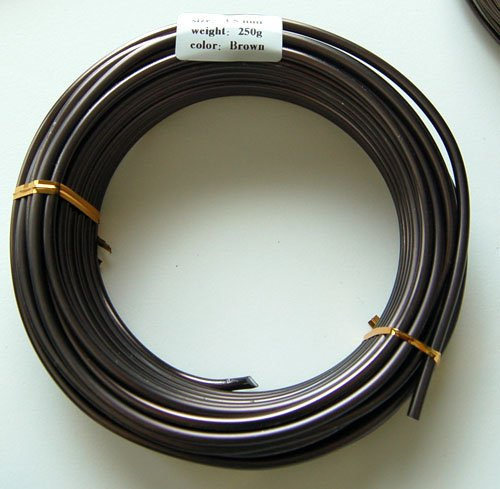 Bonsai Tree Training Wires: 250-gram roll: 3.5mm/30ft