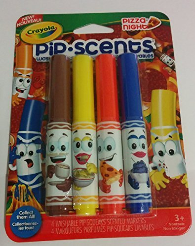Crayola Pip Pizza Night Scented Marker