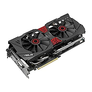 ASUSTeK NVIDIA GeForce GTX 980 セミファンレス技術 0dB fan technology採用 STRIX-GTX980-DC2OC-4GD5