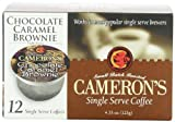 Camerons Chocolate Caramel Brownie Single Serve Coffees,  12-Count