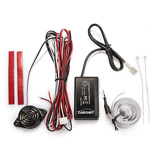 carchet capteur de radar de recul avec cran et alarme sonore pour voiture universel. Black Bedroom Furniture Sets. Home Design Ideas