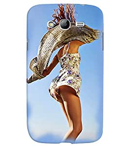 PrintVisa Hot & Sexy Girl 3D Hard Polycarbonate Designer Back Case Cover for Samsung Galaxy Grand Neo Plus
