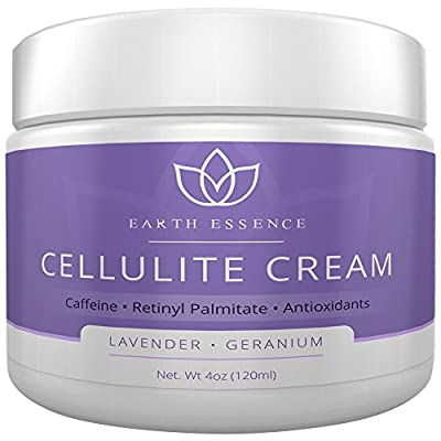 Best Anti-Cellulite Treatment Cream (Lavender) - Proven Ingredients for Cellulite Reduction: Caffeine, Collagen, & MORE, Scented w/ Pure Lavender EO, Made in USA in FDA and GMP Compliant Facility.